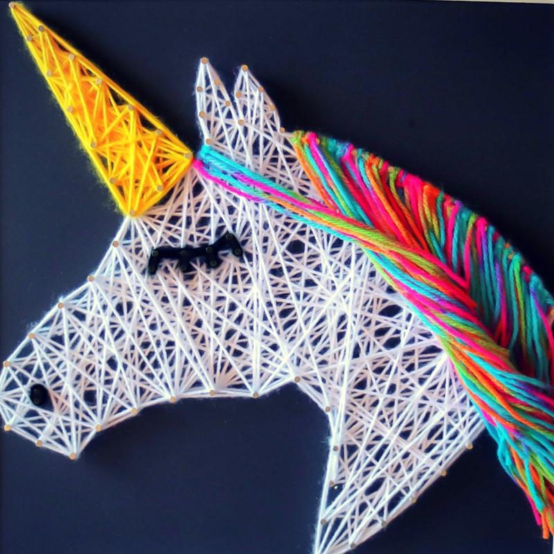 String Art: Kids String Art (Age 7-14) The Art Space Collective